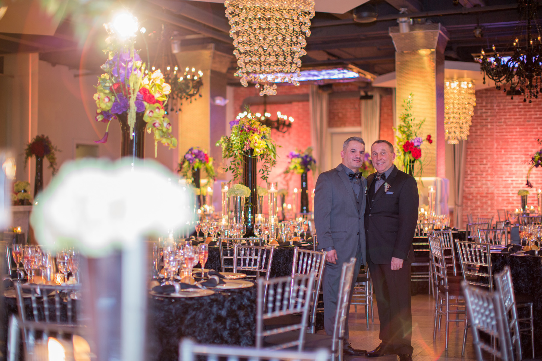 James and Luis: Wedding Elegance with a Modern Twist