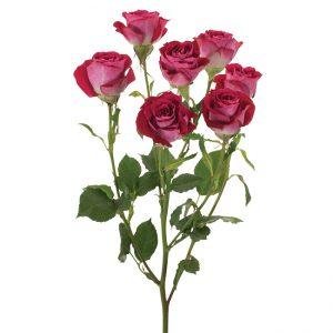 Roses Spray Pink-Hot Tanaga