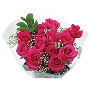 Bouquet Rose Dozen Color Queens