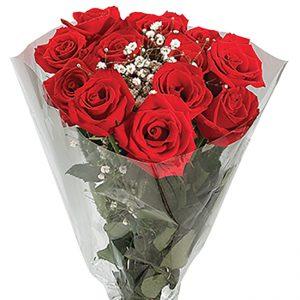 Bouquet Rose Dozen Red Queens