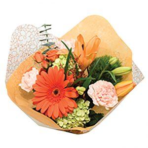 Bouquet Flower Fashion Peach Queens