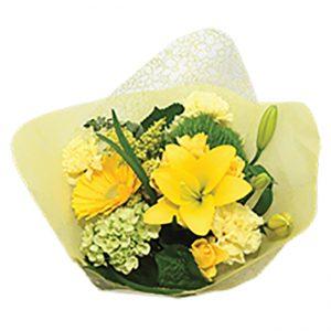 Bouquet Flower Fashion Yellow Queens