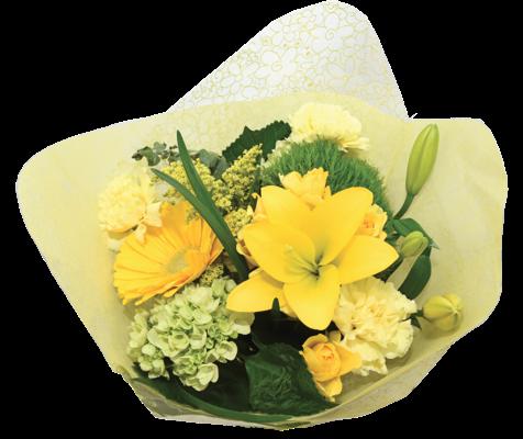 flower fashion yellow grande