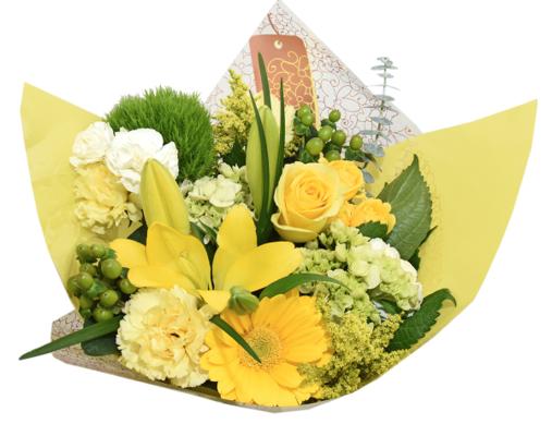 flower fashion yellow majestic