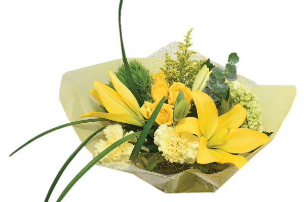 flower fashion yellow petite