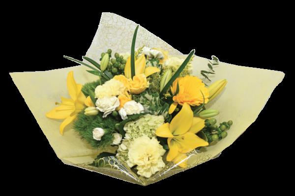 flower fashion yellow premiere